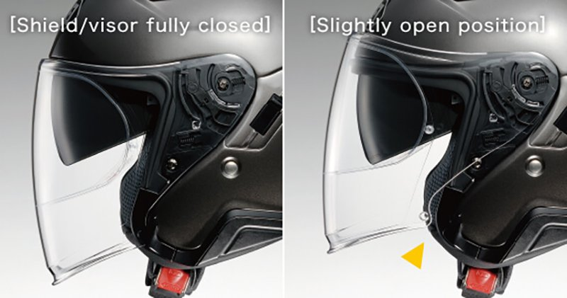 Shoei J-Cruise 2 visor lock