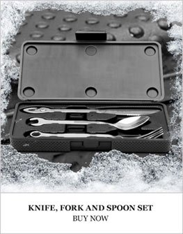 Knife Fork Spoon Set