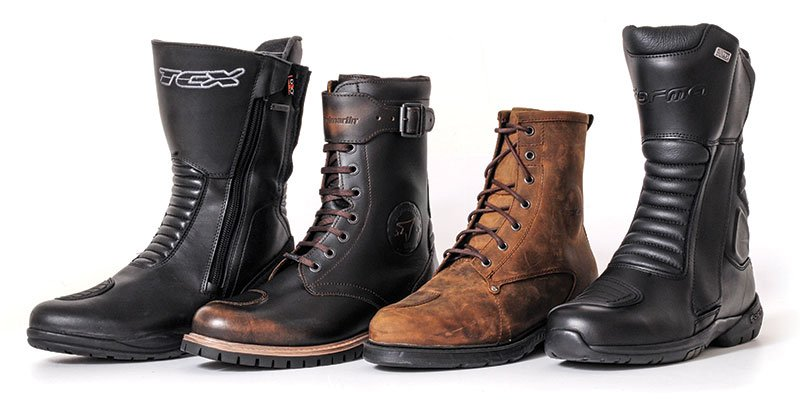 Entry-level motorcycle boots