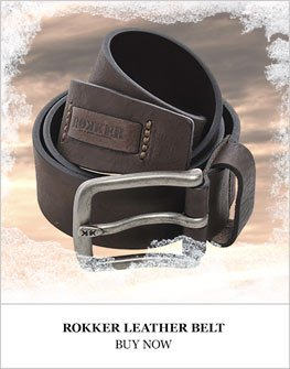 Rokker Leather Belt