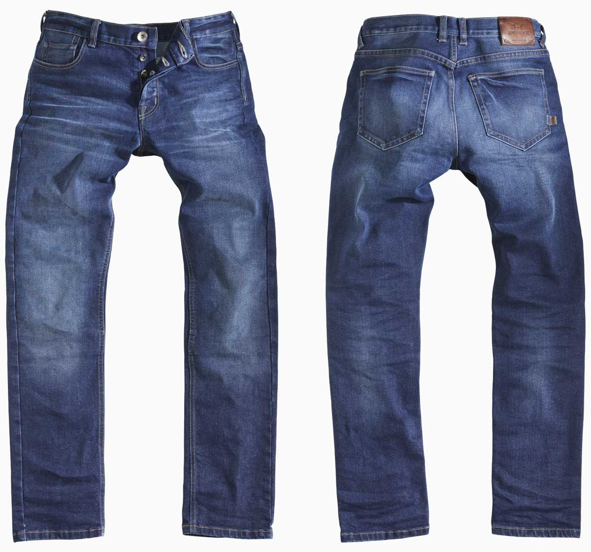Rokker Rokkertech jean front and back
