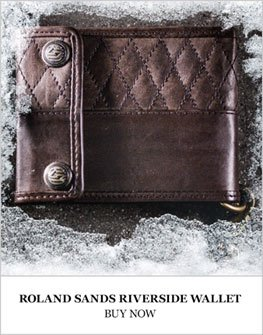 Roland Sands Riverside Wallet