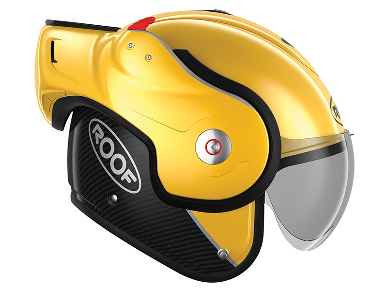 Roof Boxter visual for Shark Evo GT helmet review