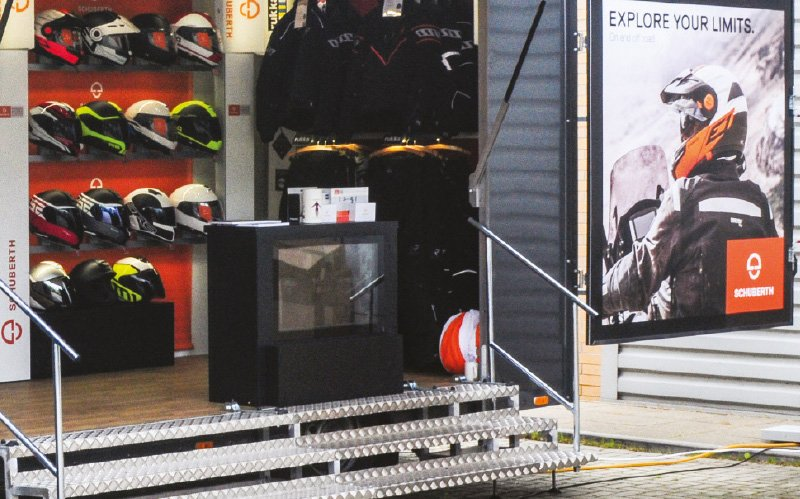 Schuberth C4 Pro test day header
