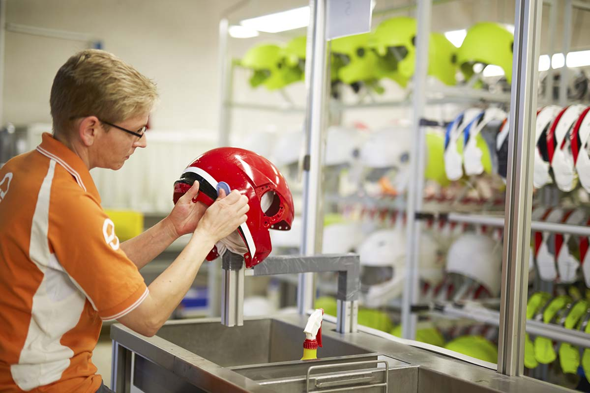 Schuberth techincal staff