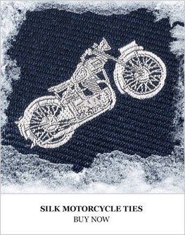 Silk Motorcycle Ties