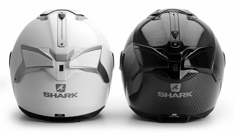 Shark Spartan GT solid vs carbon back