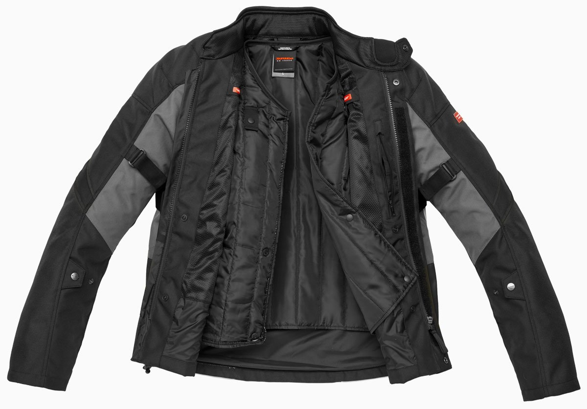 Spidi Traveller 2 jacket open