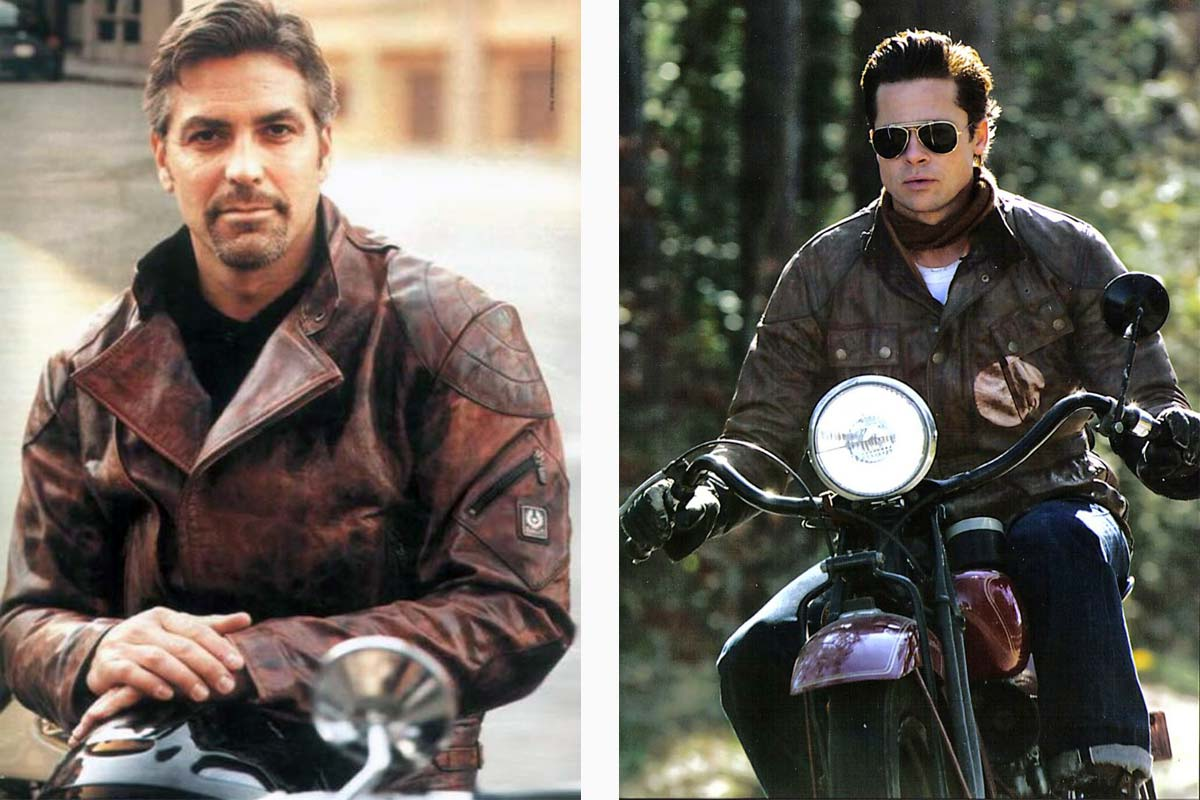 STARS WEARING BELSTAFF JACKETS