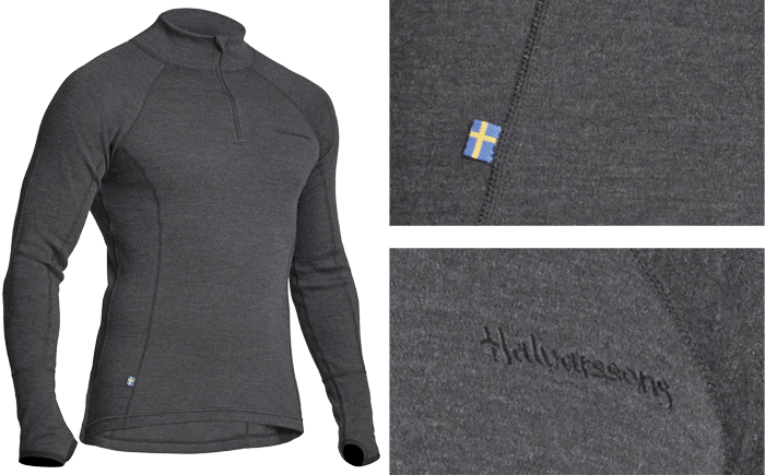 Halvarssons Polo Wool base layer