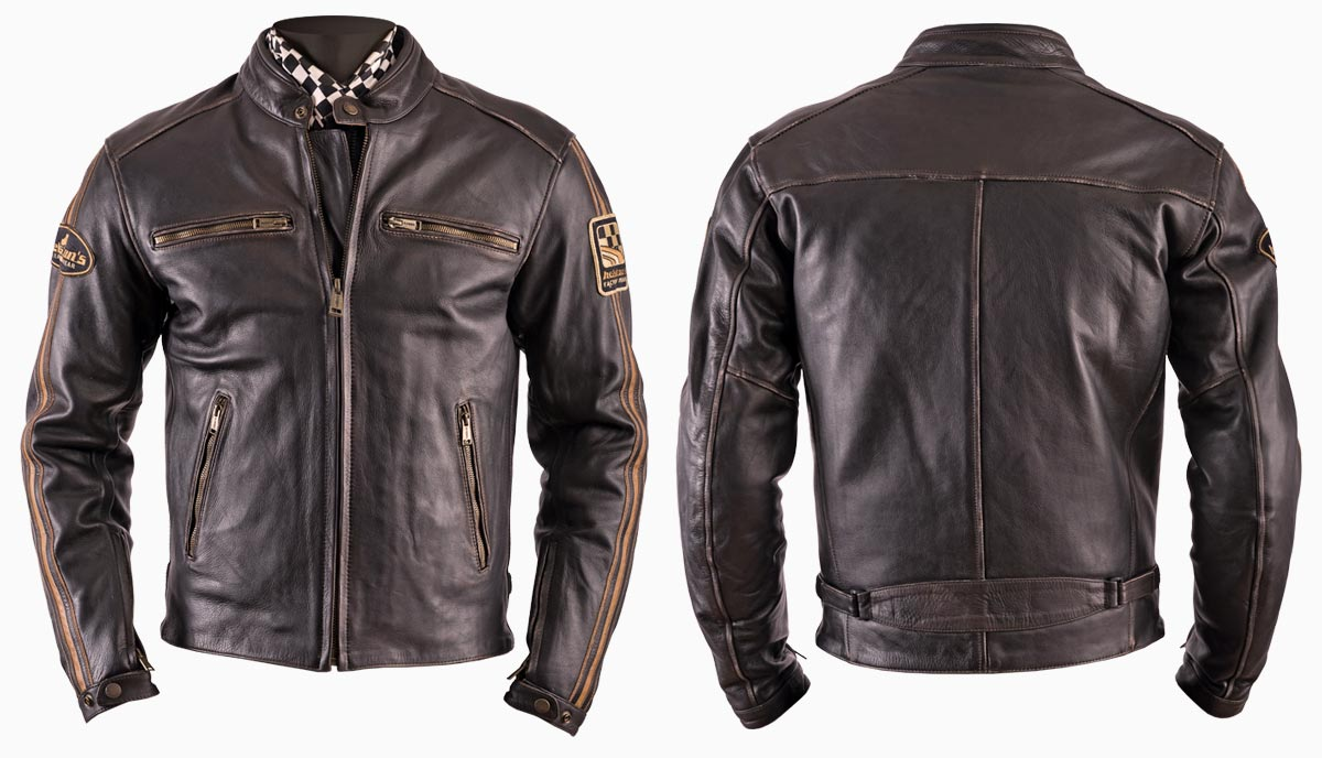 Helstons Ace Vintage leather jacket