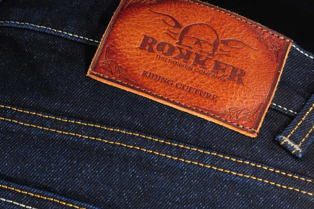 Rokker Rokkertech raw straight jean header