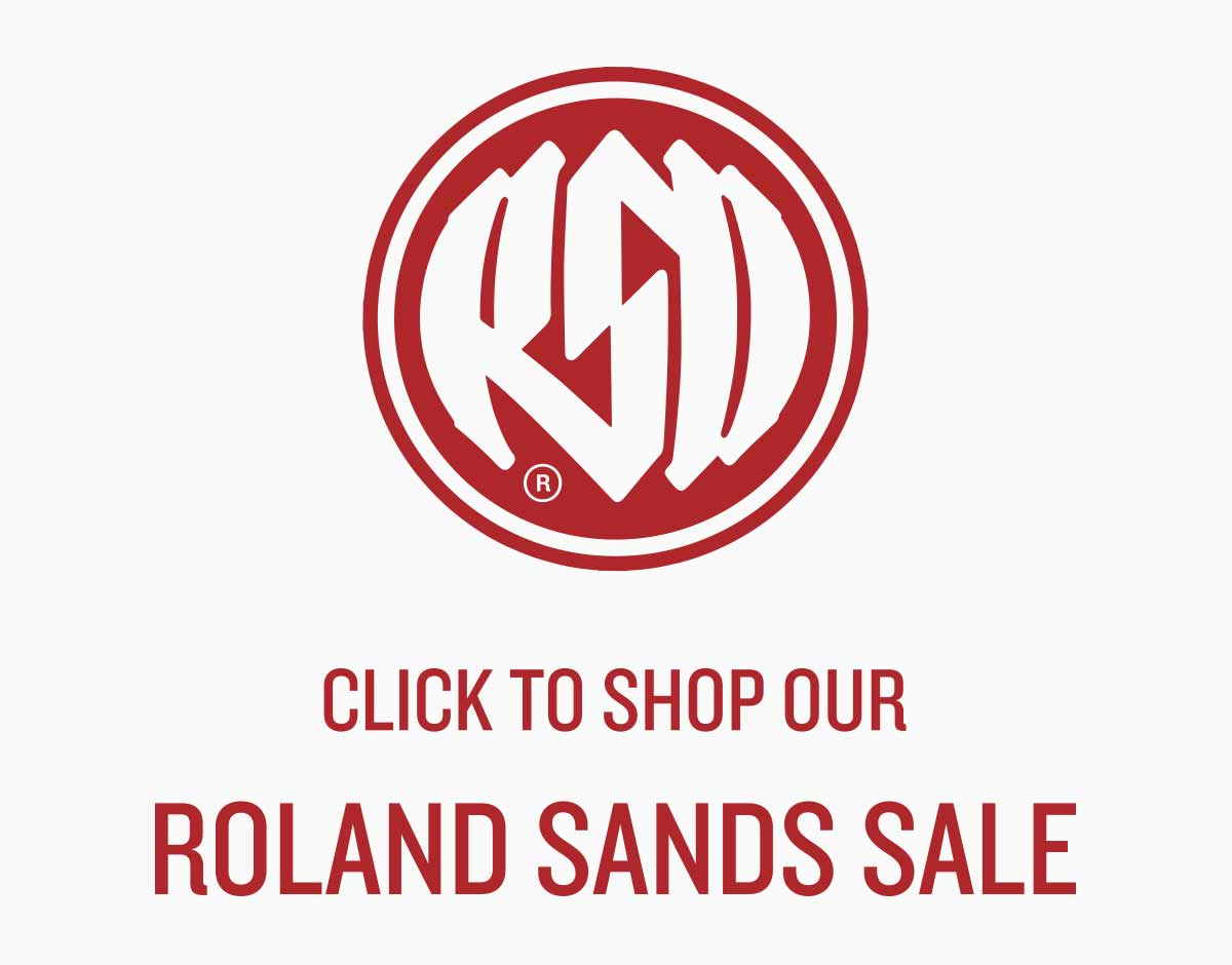 ROLAND SANDS SALE BUTTON
