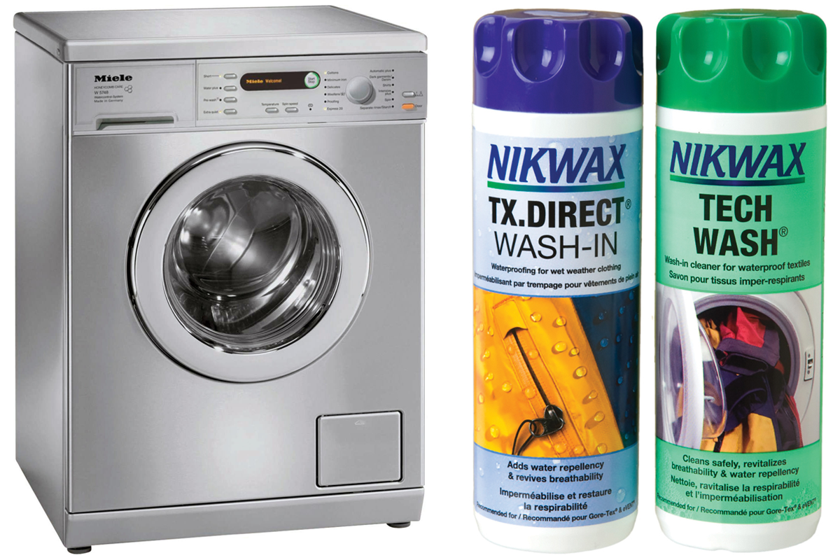Nikwax for washing motorcycle clothing